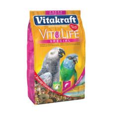 Vitakraft (Витакрафт) VitaLife Special African. Корм для африканских попугаев крупных пород, жако 650г
