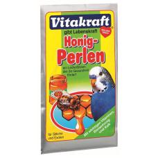 Vitakraft (Витакрафт) Honig Perlen. Витаминная подкормка для волнистых попугаев с медом 20г