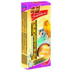 Vitapol (Витапол) Smakers. Витаминизированные палочки для волнистых попугаев с яйцом уп