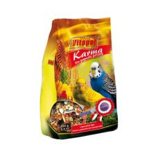 Vitapol (Витапол) Кarma. Полнорационный корм для волнистых попугаев в мягкой упаковке 500г