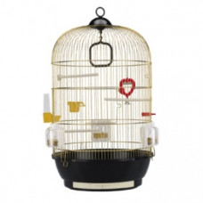 Ferplast DIVA - клетка для попугаев латунь