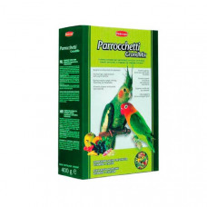 Padovan (Падован) GrandMix Parrochetti. Комплексный корм для средних попугаев 0.4 кг;0.85 кг