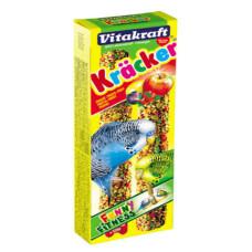 Vitakraft (Витакрафт) Cracker. Витаминизированные палочки для волнистых попугайчиков в период линьки 60г (2 шт.)