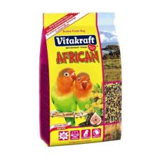 Vitakraft (Витакрафт) African. Корм для африканских попугаев средних размеров, неразлучников 750г