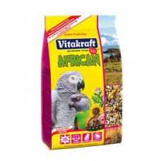Vitakraft (Витакрафт) African. Корм для крупных африканских попугаев, жако 750г