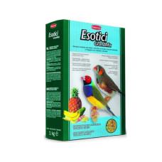 Padovan (Падован) GrandMix Esotici. Комплексный корм для экзотических птиц 0.4 кг