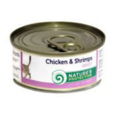 Natures Protection Chicken&Shrimps 0.1 кг