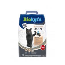 Gimpet (Джимпет) BioKat's Mеn Наполнитель для туалета некастрированных котов с экстрактом хмеля 12кг