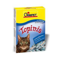 Gimpet (Джимпет) Topinis Витаминные мышки для котов с форелью 70табл;190табл