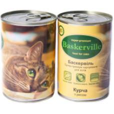 Консерва Баскервиль для котов. Курица с рисом