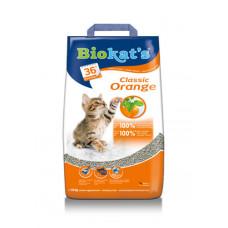 Gimpet (Джимпет) BioKat's Orange наполнитель для кошачьего туалета с ароматом апельсина 5кг;10кг