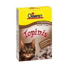 Gimpet (Джимпет) Topinis Витаминные мышки для котов с кроликом 190табл