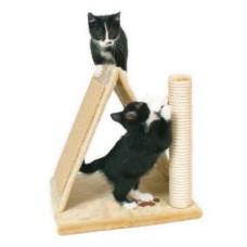 Домик для кошки Avila высота 40см, плюш, бежевый