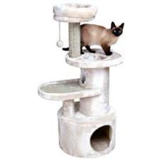 Домик для кошки Alessio, 111 см, светло-серый