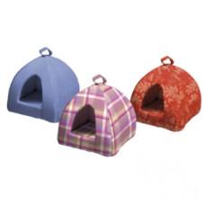 Ferplast TIPI LARGE - мягкий домик-пирамида для котов разноцветный