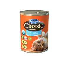 Butcher's (Бутчерс) Cat Classic. Консервированный корм для кошек с форелью 0.4кг