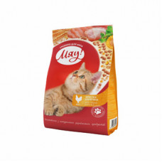 Мяу! Корм для кошек. Индейка+Садовая трава 11кг