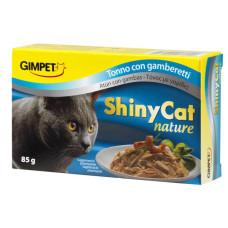 Gimpet (Джимпет) Shiny Nature Cat. Консервированный корм для котов с тунцом 0.07 кг