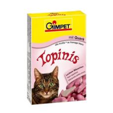 Gimpet (Джимпет) Topinis Витаминные мышки для котов с творогом 190табл