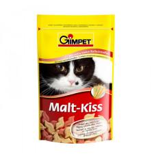 Gimpet (Джимпет) Malt Kiss Подкормка для естественного выведения шерсти через кишечник 65табл;600табл