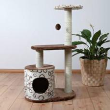 Домик для кошки Casta, 95см., коричневый/беж.
