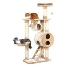 Домик для кошки Mijas 176 см, плюш, бежевый
