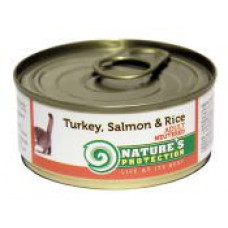 Natures Protection Neutered Turkey, Salmon&Rice 0.4 кг