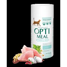 Корм Optimeal для стерилизованных кошек с индейкой и овсом 0,3кг; 0,65кг; 4кг; 10кг