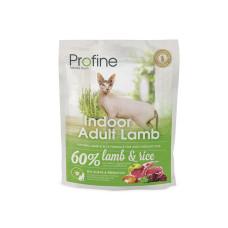 Profine (Профайн) INDOOR натуральное мясо ягненка и рис для кошек, содержащихся в помещении 0.3кг;2кг;10кг