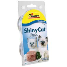 Gimpet (Джимпет) Shiny Cat Kitten. Консервированный корм для котят с тунцом 0.07 кг