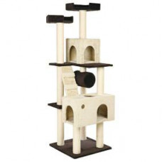Trixie (Трикси) Домик для кошки Mariela, 176 см, коричневый / бежевый