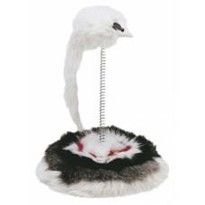 Ferplast PA 5030 - игрушка для котов - мышь на пружинке