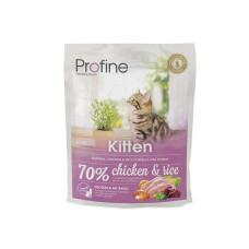 Profine (Профайн) KITTEN натуральное куриное мясо и рис для котят 0.3кг;2кг; 10кг