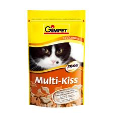 Gimpet (Джимпет) Multi Kiss Мультивитаминный комплекс для котов 65табл