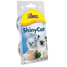 Gimpet (Джимпет) Shiny Cat Kitten. Консервированный корм для котят с курицей 0.07 кг
