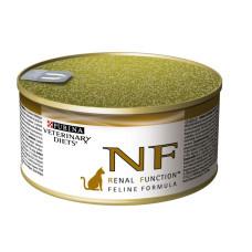 Purina (Пурина) Veterinary Diets NF Renal Feline. Консервированный диетический корм для котов страдающих от заболеваний почек. 195г