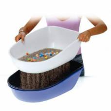 Trixie (Трикси) Туалет Берто с бортиком и сеткой