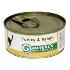 Natures Protection Kitten Turkey&Rabbit 0.1 кг;0.4 кг