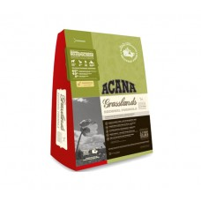 Acana (Акана) Grasslands корм для кошек с мясом ягненка и утки 0.34кг; 1,8кг; 5,4кг