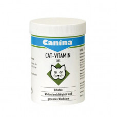 Canina (Канина) Cat Vitamin Мультивитаминная добавка для котов 100табл; 250 табл