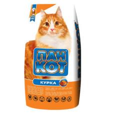 Пан Кот Курица. Корм для кошек со вкусом курицы 10кг