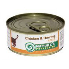 Natures Protection Chicken&Herrig г 0.1 кг