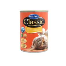 Butcher's (Бутчерс) Cat Classic. Консервированный корм для кошек с курицей 0.4кг