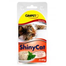 Gimpet (Джимпет) Shiny Cat. Консервированный корм для котов с тунцом и курицей 0.085 кг