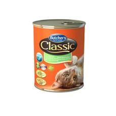 Butcher's (Бутчерс) Cat Classic. Консервированный корм для кошек с морепродуктами 0.4кг