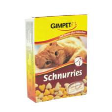 Gimpet (Джимпет) Schnurries Витаминные сердечки с курицей для котов 650табл