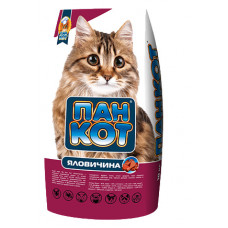 Пан Кот Говядина. Корм для кошек со вкусом телятины 10кг