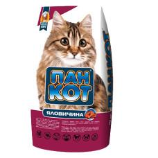 Пан Кот Телятина. Корм для кошек со вкусом телятины 10кг