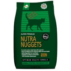 Nutra Nuggets Indoor Hairball Formula Cat 0.1кг, 1кг, 10кг, 18.16кг