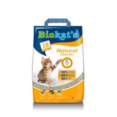 Gimpet (Джимпет) BioKat's Natural наполнитель для кошачьего туалета, изготовлненный из природной глины 5кг;10кг